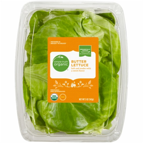 Simple Truth Organic™ Butter Lettuce Perspective: front