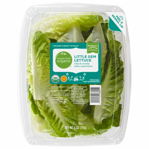 Simple Truth Organic® Little Gem Lettuce Perspective: front