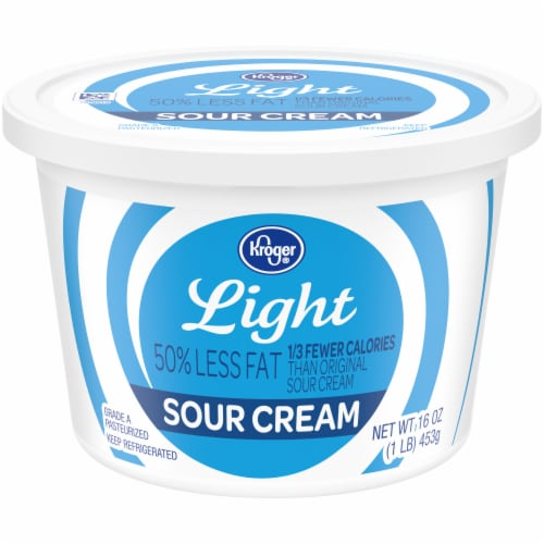 Kroger® Light Sour Cream Perspective: front