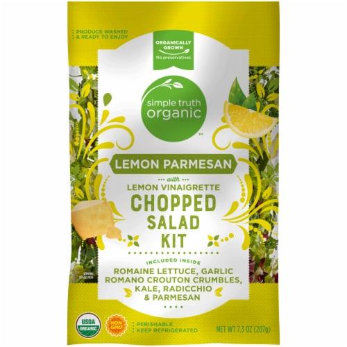 Simple Truth Organic™ Lemon Parmesan with Lemon Vinaigrette Chopped Salad Kit Perspective: front