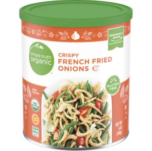 Simple Truth Organic™ Crispy French Fried Onions Perspective: front