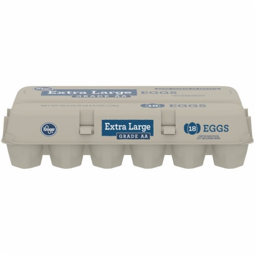 Kroger® Grade AA Extra Large Eggs Perspective: front