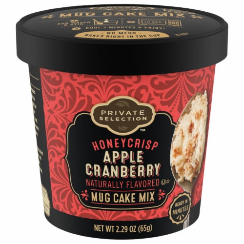 Private Selection™ Honeycrisp Apple Cranberry Mug Cake Mix Perspective: front