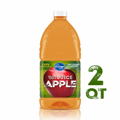 Kroger® 100% Apple Juice from Concentrate Perspective: front