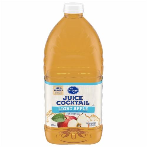 Kroger® Lite Apple Juice Cocktail Perspective: front