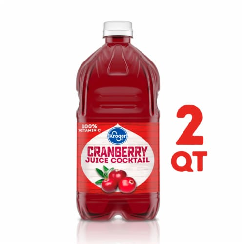 Kroger® Cranberry Juice Cocktail Perspective: front