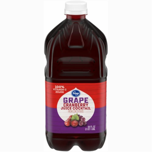 Kroger® Grape Cranberry Juice Cocktail From Concentrate Perspective: front