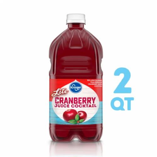 Kroger® Lite Cranberry Juice Cocktail Perspective: front