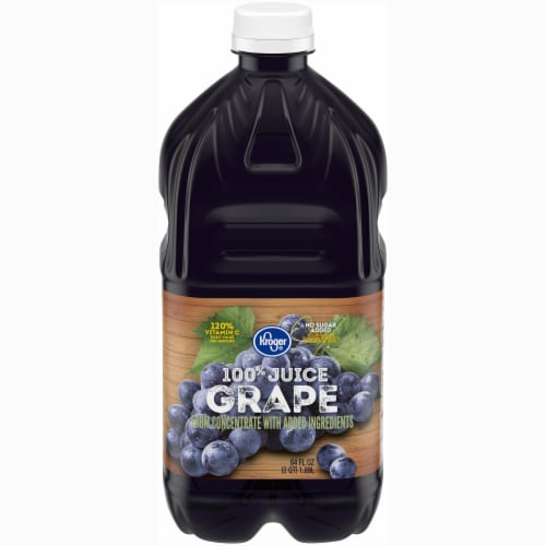 Kroger® 100% Grape Juice Perspective: front