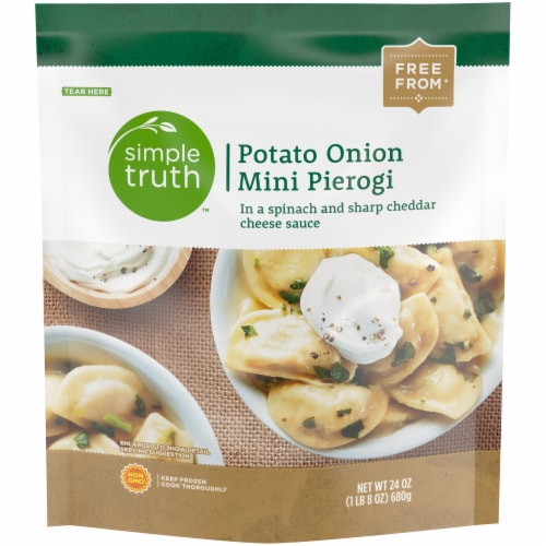 Simple Truth™ Potato Onion Mini Pierogi Perspective: front