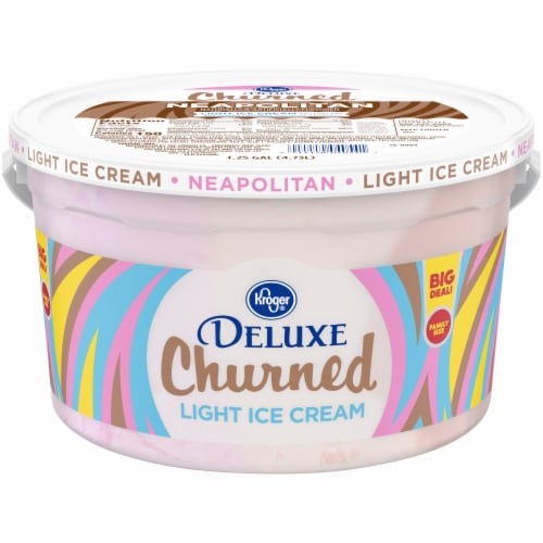 Kroger® Party Pail Neapolitan Ice Cream Perspective: front