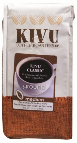 Kivu Classic Medium Roast Ground Coffee Perspective: front