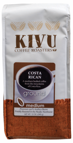 Kivu Costa Rican Ground Coffee Perspective: front