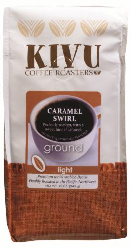 Kivu Caramel Swirl Ground Coffee Perspective: front