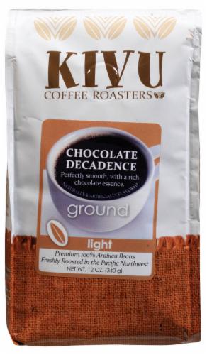 Kivu Chocolate Decadence Ground Coffee Perspective: front