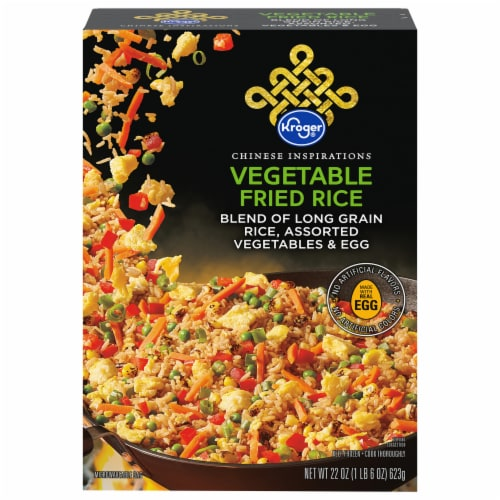 Kroger® Chinese Inspirations Vegetable Fried Rice Perspective: front