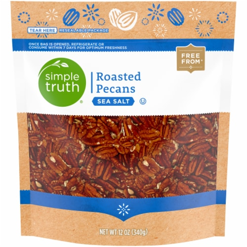 Simple Truth® Sea Salt Roasted Pecans Perspective: front