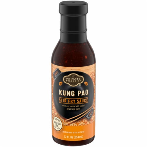 Private Selection® Kung Pao Stir Fry Sauce Perspective: front
