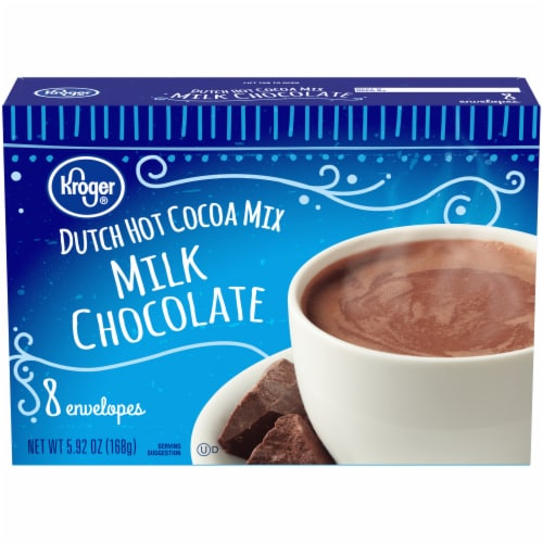 Kroger® Dutch Milk Chocolate Hot Cocoa Mix 8 ct Perspective: front