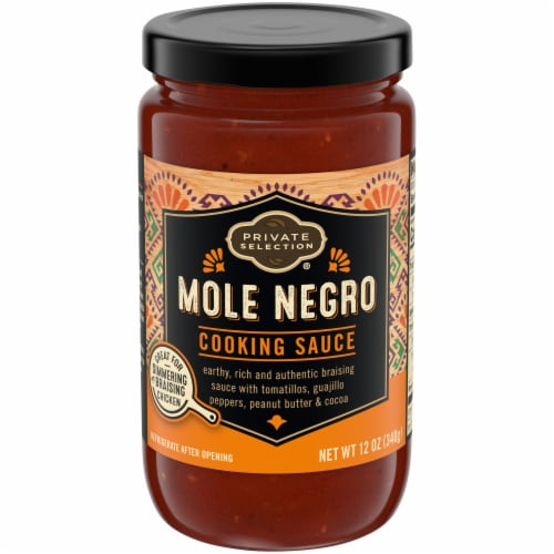 Private Selection™  Mole Negro Cooking Sauce Perspective: front