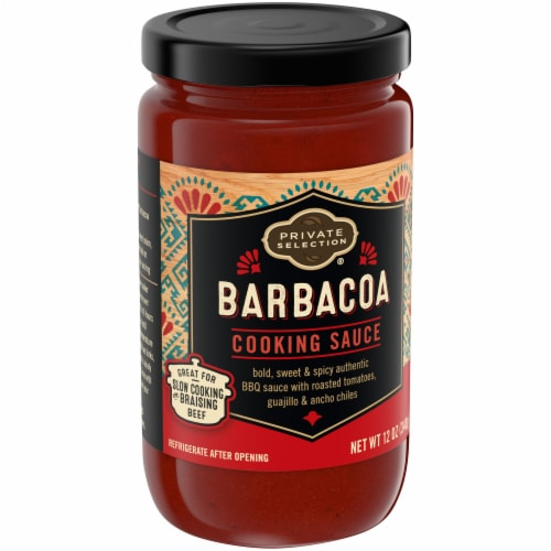 Private Selection® Barbacoa Cooking Sauce Perspective: front