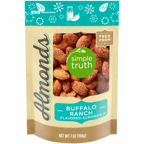 Simple Truth® Buffalo Ranch Flavored Almonds Perspective: front