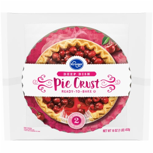 Kroger® Deep Dish 9-Inch Pie Crusts Perspective: front