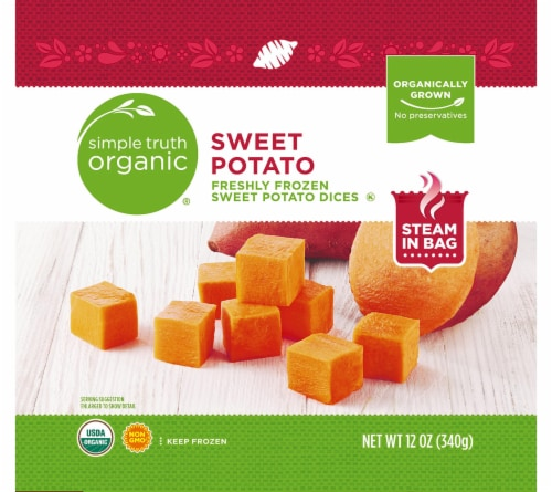 Simple Truth Organic® Sweet Potato Dices Perspective: front