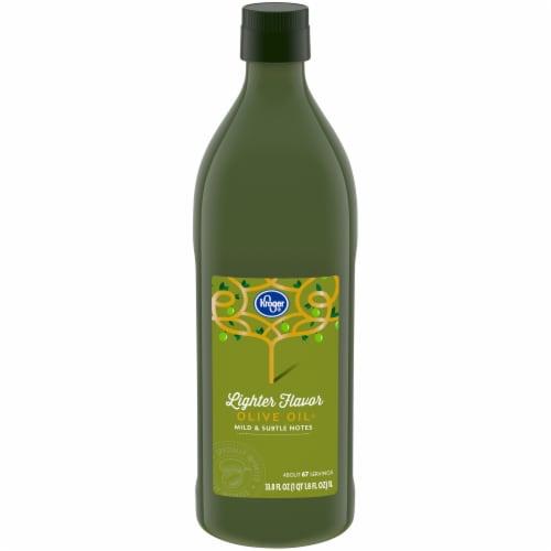 Kroger® Lighter Flavor Olive Oil Perspective: front