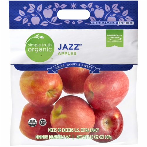 Simple Truth Organic™ Jazz ™ Apples Bag Perspective: front