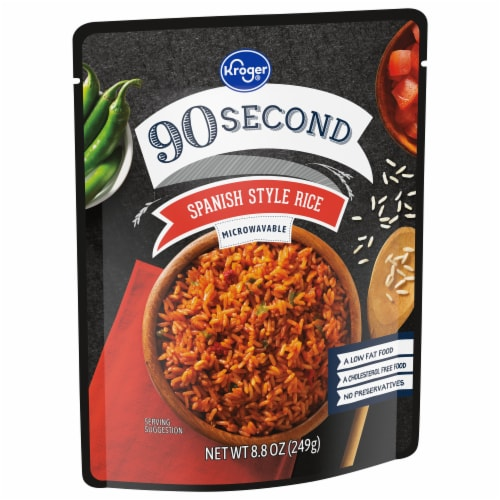 Kroger® 90 Second Spanish Style Rice Perspective: front