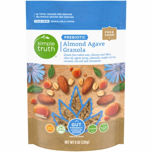 Simple Truth™ Prebiotic Almond Agave Granola Perspective: front