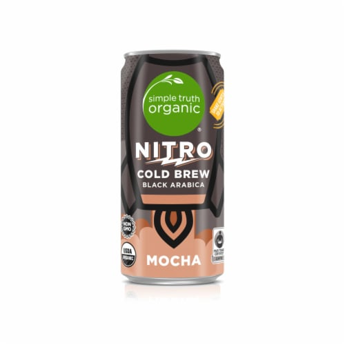 Simple Truth Organic® Mocha Nitro Cold Brew Coffee Perspective: front