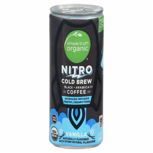 Simple Truth Organic® Nitro Vanilla-Flavored Cold Brew Coffee Perspective: front