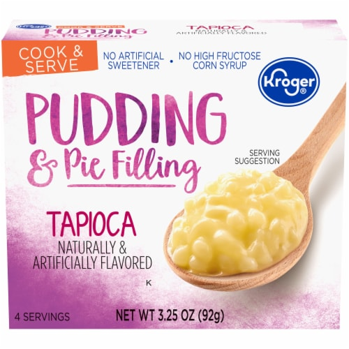 Kroger® Tapioca Pudding & Pie Filling Perspective: front
