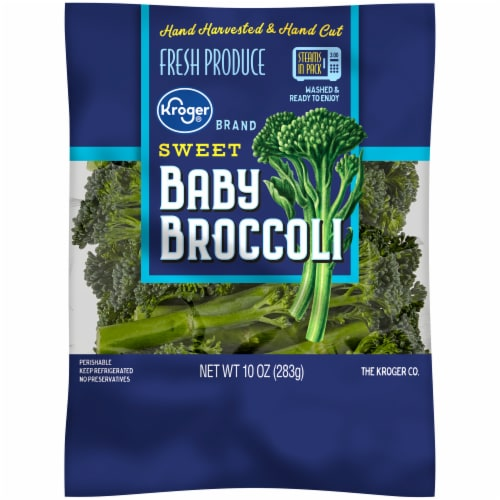 Kroger® Sweet Baby Broccoli Perspective: front