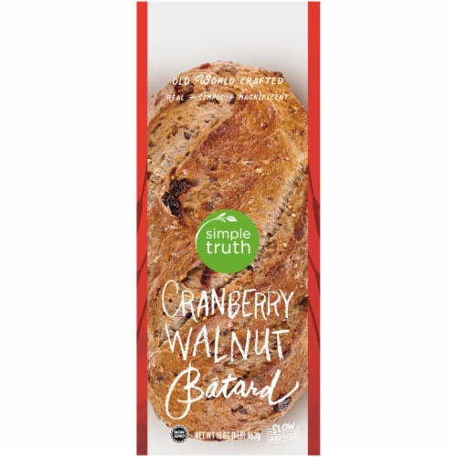 Simple Truth™ Cranberry Walnut Multigrain Batard Perspective: front