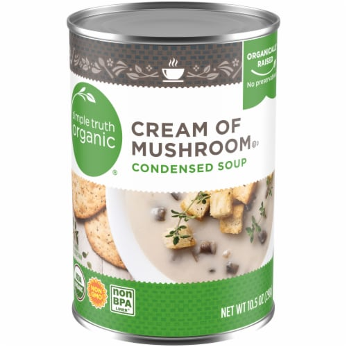 Simple Truth Organic® Cream of Mushroom Condensed Soup Perspective: front