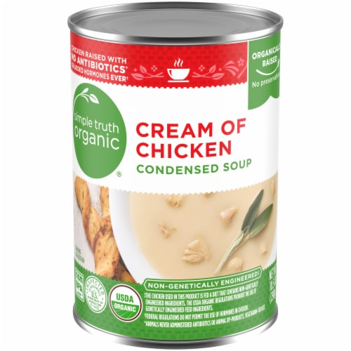 Simple Truth Organic™ Cream of Chicken Condensed Soup Perspective: front