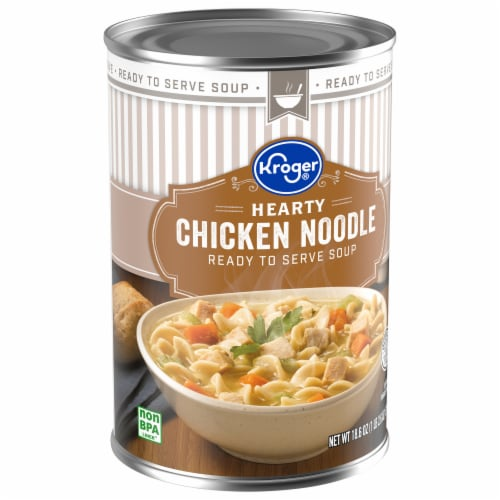 Kroger® Hearty Chicken Noodle Soup Perspective: front