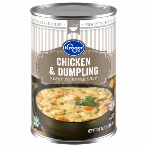 Kroger® Chicken & Dumpling Soup Perspective: front