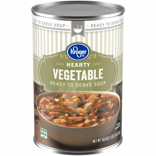 Kroger® Hearty Vegetable Soup Perspective: front
