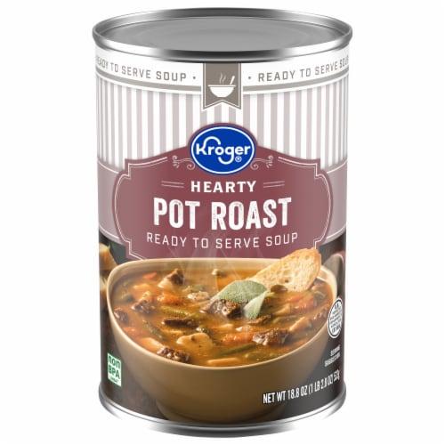 Kroger® Hearty Pot Roast Soup Perspective: front