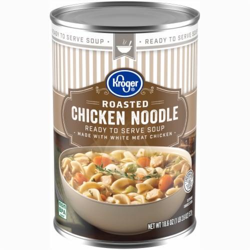 Kroger® Roasted Chicken Noodle Soup Perspective: front