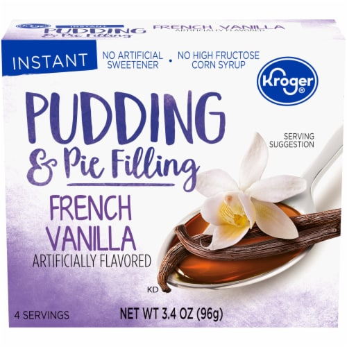 Kroger® Instant French Vanilla Pudding & Pie Filling Perspective: front