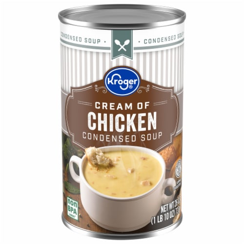 Kroger® Cream of Chicken Condensed Soup Perspective: front