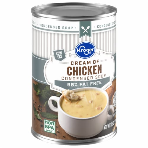 Kroger® 98% Fat Free Cream of Chicken Condensed Soup Perspective: front