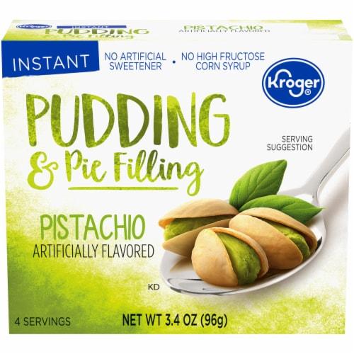 Kroger® Pistachio Pudding & Pie Filling Perspective: front