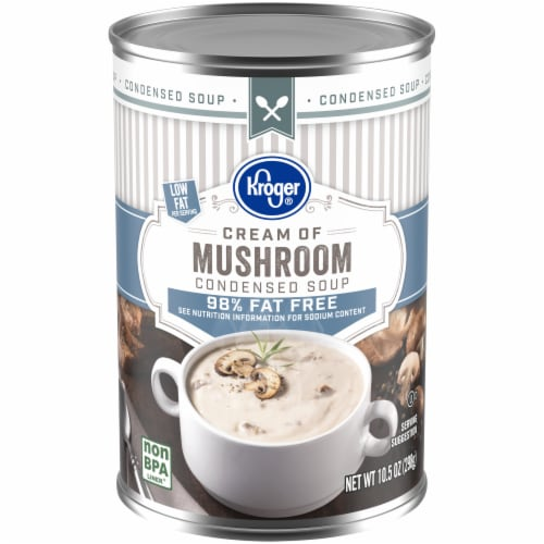 Kroger® 98% Fat Free Cream of Mushroom Condensed Soup Perspective: front