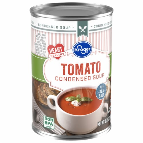 Kroger® Heart Healthy Tomato Condensed Soup Perspective: front